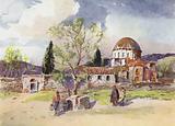 The Convent of Daphni, Greece