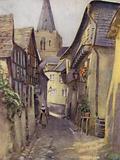 An Old Street in St Goar