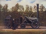 The Rocket and its designer, George Stephenson, the Father of British Railways, London and North Western Railway