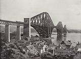 The Forth Bridge, from North Queensferry