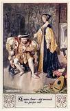Queen Anne, did overrule his proper will