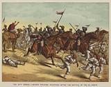 The 13th Bengal Lancers pursuing fugitives after the Battle of Tel-El-Kebir