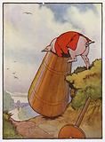 Illustration for The Three Little Pigs