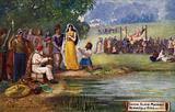 Saxon Slave Market, the unveiling of Britis, 800 AD