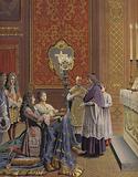 Marriage of King Louis XIV and Madame de Maintenon