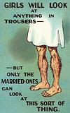 Male, hairy legs