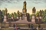 The Luther monument in Worms