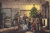 Luther at Christmas, in his family circle