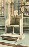 St Augustine's Chair, Canterbury Cathedral