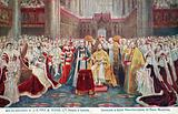 Coronation of King George V, Westminster Abbey