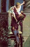 Balcony scene, Romeo and Juliet