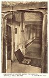 Footprint of George Marsh, Smithills Hall, Bolton