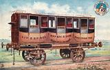 First class train carriage, London and North Western Railway Company