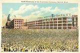 50 000 employees of the Ford Motor Company, Detroit, Michigan