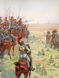Napoleon, prior to the Battle of Borodino, 7 September 1812