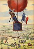 Battle of Fleurus with balloon
