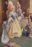 Illustration for Little Women by Louis M Alcott