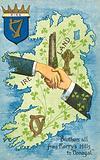 Hands shaking across Ireland