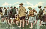 Crowd at the seaside