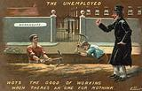 The unemployed and the workhouse