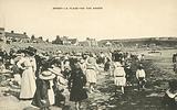 Children on the beach, Jersey