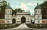 Entrance, Burghley House, Stamford, Lincolnshire