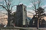Whitnash Church and Tree, Leamington