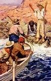 Edward Eyre rescued by French whalers