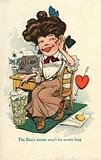 Secretary in love