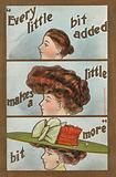 The stages of hairdressing