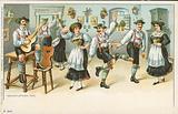 The Schuhplattler Dance