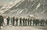 Ski Instructors at Chamonix