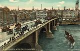 London Bridge after the 1904 widening