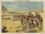 Caravan in the Arabian desert