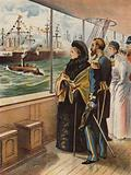 The Jubilee Naval Review at Spithead, 1897