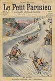 Winter sports: tobogganing in Switzerland