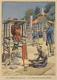 A Chinese torture: slow strangulation