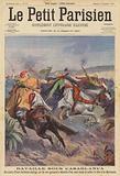 Battle outside Casablanca, Morocco