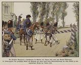 French troops under the command of General Kellermann cross the border into Prussian territory at Sickershausen, …
