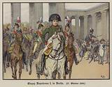 Napoleon entering Berlin, 27 October 1806