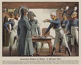 Field Marshal Blucher surrendering to the French at Katekau, 7 November 1806