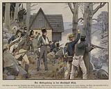 Guerrilla warfare in the mountain country of Glatz, 1807