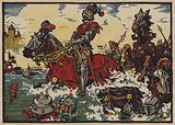 Victory of the Swiss over the Burgundians at the Battle of Morat, 22 June 1476