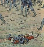 France invaded by the Prussians, 1870