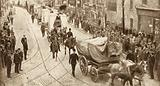 Scene during the London Dock Strike of 1912