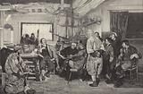 Peter the Great being taught the art of shipbuilding in Holland in 1697