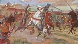 Geoffrey I, Count of Anjou, at war with his neighbours