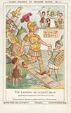 Julius Caesar landing in Britain