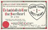 Licence to Have One Sweetheart