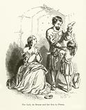 The Lady De Braose and her son in prison